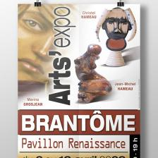 Exposition de peinture et sculpture - Affiche