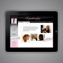 Le Petit Salon à Domicile - Site web